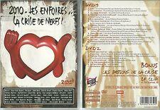 DVD - LES ENFOIRES 2010 : LA CRISE DE NERFS GOLDMAN ALIZEE CABREL /NEUF EMBALLE