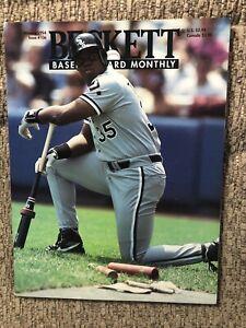 Beckett Baseball Card Monthly Magazine - January 1994 - FRANK THOMAS
