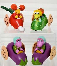 FRAGGLE ROCK Mc Donald's 4Veggie Car FIGURES 1988 from Happy Meals