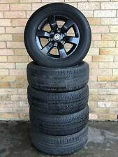 SET OF 5 GENUINE HOLDEN COLORADO WHEELS AND TYRES USED SET