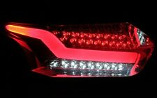 Bar LED Set Luci Posteriori Ford Focus mk3 DYB a partire dal 2014-Smoke ROSSO NERO LIGHTBAR