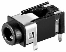 Goobay Jack chassis socket 3.5mm stereo plastic version with 4 contacts (11579)