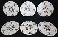 Coalport England Khotar Set of 6 Dinner Plates -Bone China