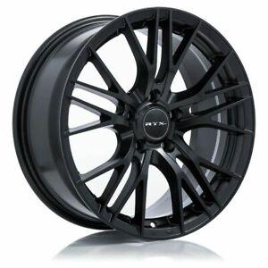 One (1) 20x8.5 RTX Vertex ET 38 Satin Black 5x114.3 Wheel Rim