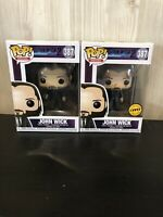 Movies John Wick  Chase Set Limited Edition Funko Pop Vinyl
