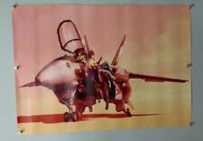 Macross Frontier/ Robotech Valkyrie + 3 Pilots - A1 Japanese Poster - Banpresto