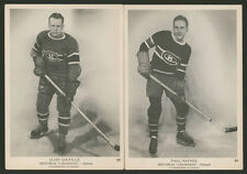1939 1939-40 1940 V301-1 O-PEE-CHEE #22 CLIFF GOUPILLE #31 PAUL HAYNES MONTREAL