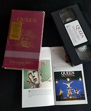 "1992 USA ""QUEEN ‎– GREATEST HITS"" (NTSC VHS) MINT-"