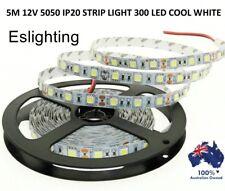 5M FLEXIBLE BRIGHT LED STRIP LIGHTS 12V 5050 SMD IP20 COOL WHITE 300 LEDS