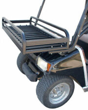 Custom Golf Cart Front Storage Cargo Rack - 50 lb wt cap. Black