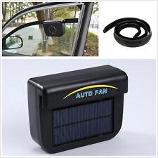 New Solar panels Power Car Summer Window Air Vent Cooler Ventilation Exhaust Fan