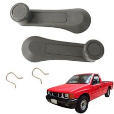 Pair Windows Winder Handle Crank Grey Fits Isuzu Holden Pickup Tfr Kbz 1981 1995