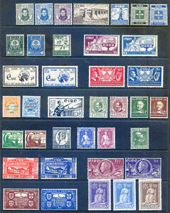 1929-1950 run 21 different KG 5th & 6th commems,l lightly hinged (2018/10/03#04)