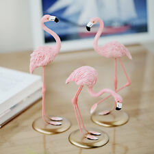 1 Pcs Resin Pink Flamingo Home Room Decor Figure For Friend Family Gifts