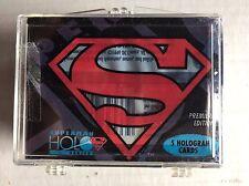 Superman Holo Series 1996 Skybox 50 Trading Card Set HoloAction Insert Holograms