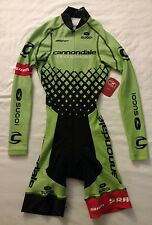New 2016 Women's Sugoi Cannondale CX MidZero LS Thermal Cycling Skinsuit, XS