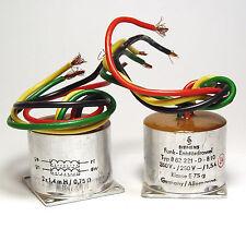 2x Siemens Funk-Entstördrossel / B82221 Drossel, 2x 1.5A / 1,4 mH / 750 mOhm