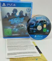 Need For Speed Original Sony PlayStation 4 PS4 Spiel (Game) mit OVP, PAL CiB