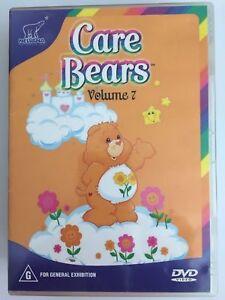 Care Bears DVD Volume 7 - 1986 Original Cartoon Show - RARE  - REGION 4