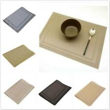 NEW Hotel Kitchen Dining Room Table Placemats PVC Heat Insulation Durable Mat N7