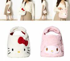 Sanrio Hello Kitty My Melody Fur Ribbon Mini Tote Bag ROOTOTE Japan Tracking