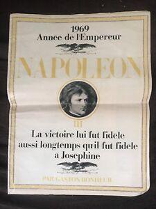 Revue 1969 Annee de L'Empereur NAPOLEON par Gaston Bonheur - Partie III