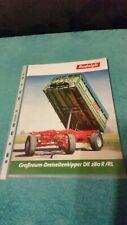 Rudolph Großraum-Dreiseitenkipper DK 280 R/RL Prospekt