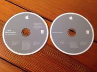 Apple Mac OS X 10.4.6 Tiger Install Discs 17-inch MacBook Pro 2006 CD Disc