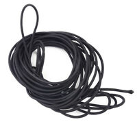 10m 4mm Strong Elastic Rope Cord Bungee Shock Stretch String Making Black