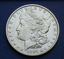 U.S.A 1891  Silver Morgan Dollar