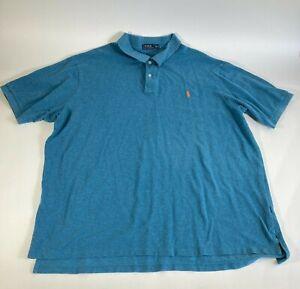 Polo Ralph Lauren Men's polo shirt short sleeve size 4XL Tall
