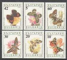 Bulgaria 1990 Butterflies/Insects/Nature 6v (b4342)