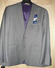 John Lewis Grey Suit Jacket Daniel Hechter wool jacket BNWT£195 42 S