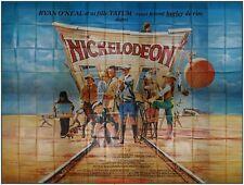 NICKELODEON Affiche Cinéma GEANTE / WIDE Poster BURT REYNOLDS Ryan O'Neal