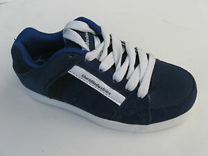WorldIndustries girls boys athletic shoes leather blue size 13 ;6;8, RRP-69.95