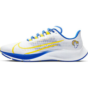 New 2020 NFL Los Angeles Rams Nike Unisex Zoom Pegasus 37 Running Training Shoes