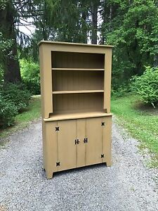"Primitive Handcrafted Vermont Farmhouse Hutch ""Made to Order"""