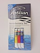Windsor & Newton Art Artisan Introductory Set Of Water Mixable Oil Color Paint