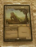 Realm-Cloaked Giant Throne of Eldraine Mtg Showcase Alternate Art Foil NM Magic