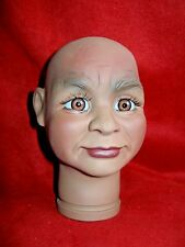 """Doll Head Klaus 1996 6 3/4"""" high  Irmas Gallery Vinyl"""