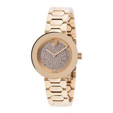 Reloj de Cuarzo Movado 3600492 para mujer audaz Tono Dorado