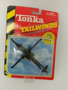 Tonka Tailwinds Model Military Helicopter Die Cast New In Package