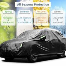 Heavy Duty Waterproof Full Car Cover Vehicle Rain UV Protector For Jeep Wrangler