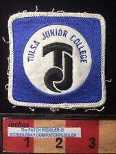Vtg Jacket Patch TULSA JUNIOR COLLEGE now Tulsa Community College Oklahoma 61Z5