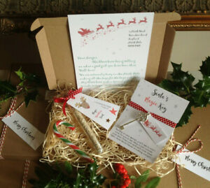 Christmas Eve Box, santa key, Reindeer Food, Santa Letter