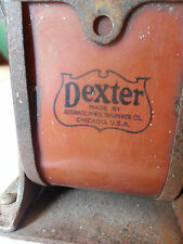vintage DEXTER pencil sharpener Automatic Pencil Sharpening Co. Chicago, USA