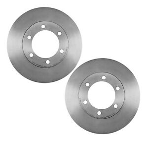 For Toyota Sequoia Tundra Pair Set of 2 Front Disc Brake Rotors UV Coated Brembo