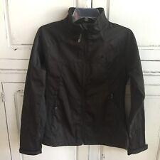 Snozu Women's High Performance Soft Shell Black Jacket Size Medium M Full Zip