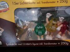 M&M vintage Christmas lights garland 15bulbs