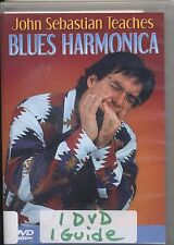 John Sebastian Teaches Blues Harmonica DVD Region ALL DVD-R